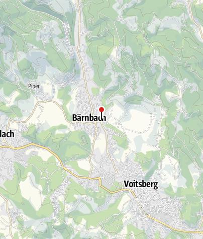 Karte / Stölzle Glas-Center GlasMuseum Bärnbach