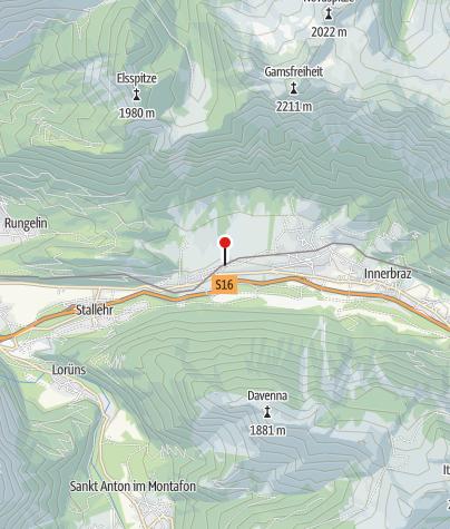 Karte / Golfclub Bludenz-Braz