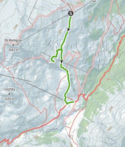 Karte / Somtgant - Radons mit Gipfelbuch