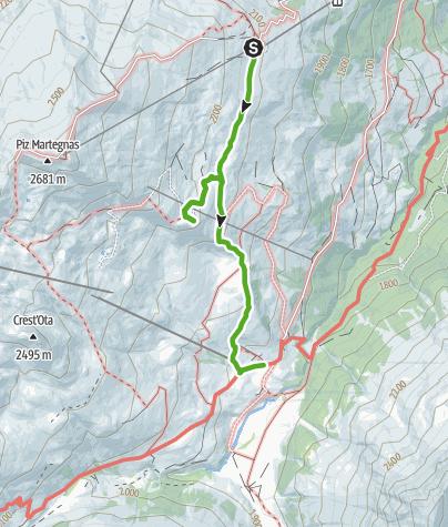 Map / Somtgant - Radons mit Gipfelbuch