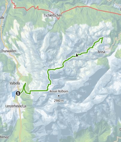 Map / GPS Sommer Heidi & Gigi Weg