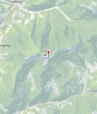 Karte / Annaberg-Lungötz: Schwarze Lacke am Gerzkopf