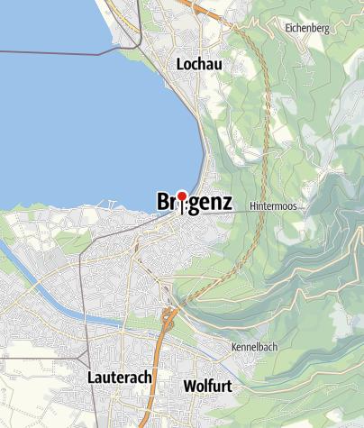 Karte / Kunsthaus Bregenz
