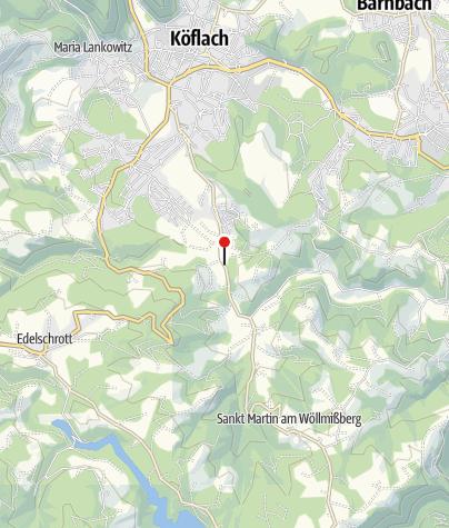 Karte / Gasthaus Scherzwirt