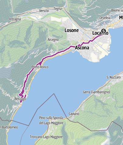 Locarno-Brissago • Bicycle Ride » outdooractive.com