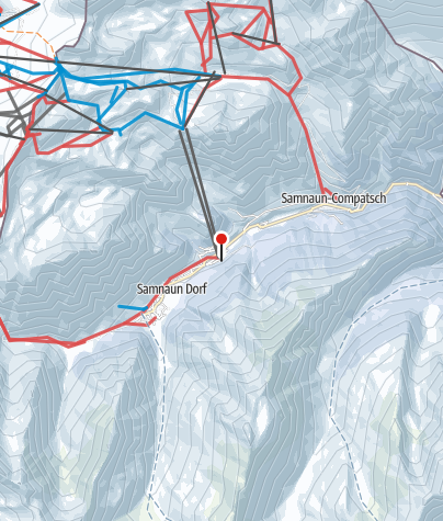 Karte / Silvretta Arena Ischgl-Samnaun
