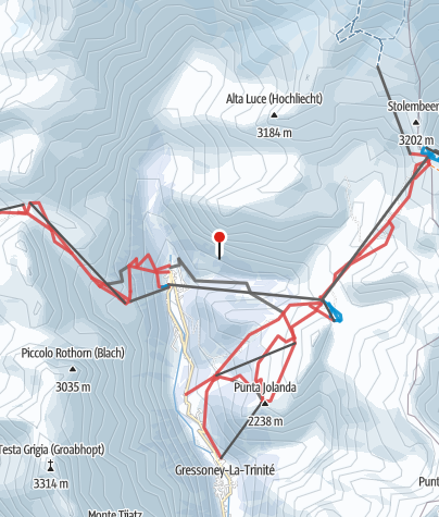 Karte / Monterosa Ski