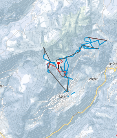 Karte / Leysin