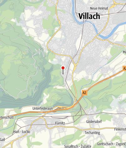 Cartina / Bagni termali Kärnten-Therme