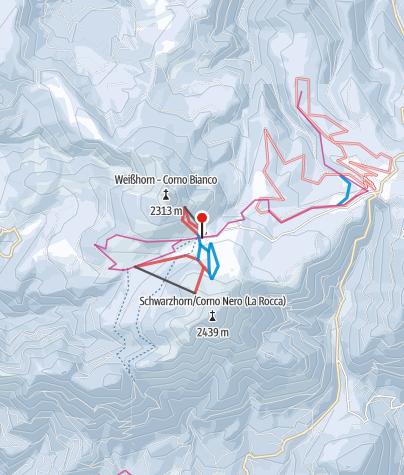 Cartina / Passo di Oclini / Jochgrimm