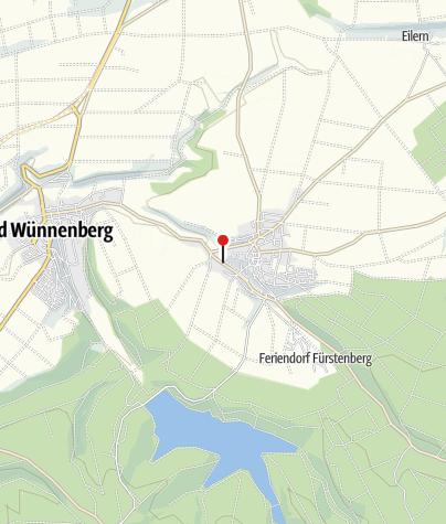 Karte / Kneipp Tretbecken Fürstenberg