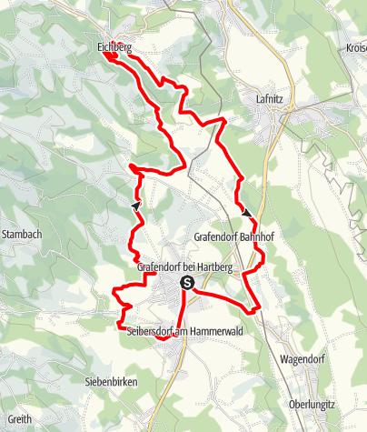 Karte / Formbacherlandweg