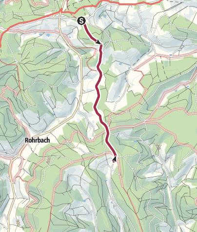 Map / St. Georgen - Barrierefreie Wanderung vom Kesselberg zum Breghäusle