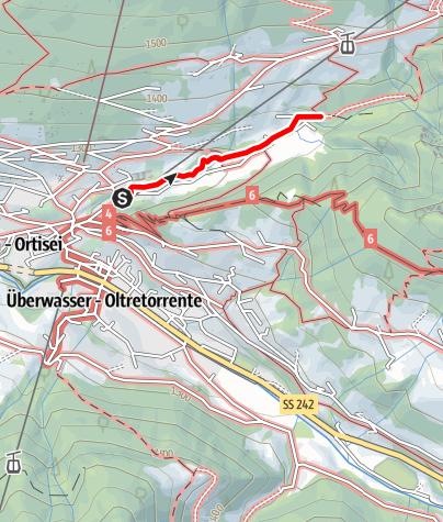 Cartina / Passeggiata Val d`Anna