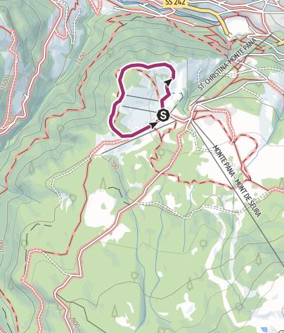 "Map / ""Troi Unika"" Art & Nature trail"