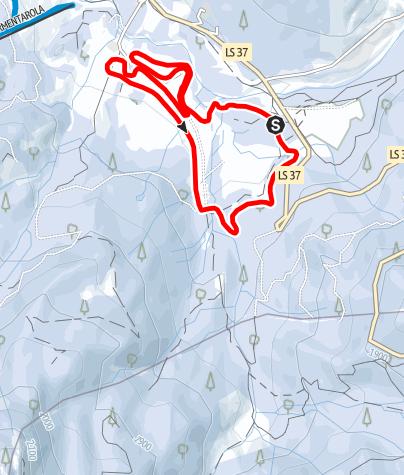 Map / Gran Ancëi