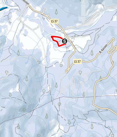 Karte / Armentarola - Übungshang