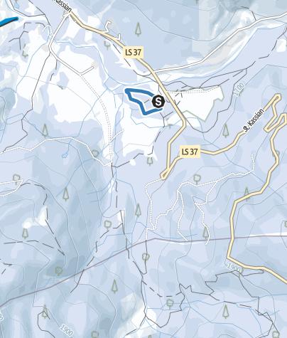 Map / Armentarola - training trail