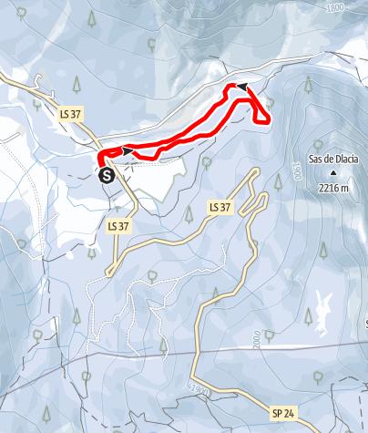 Map / Sas Dlacia