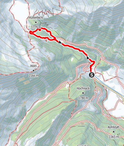Map / Waterfalls of the Burkhard Gorge