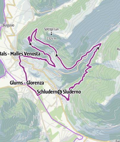 Map / Churburgtour