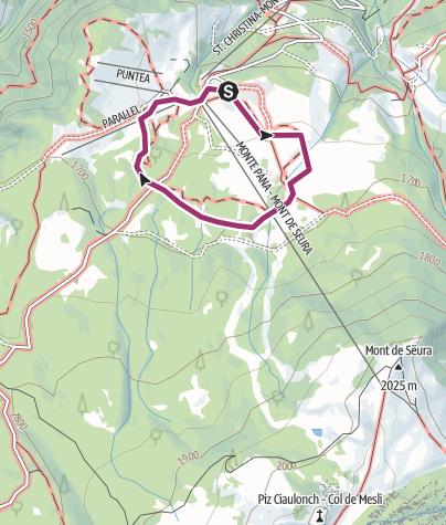 Map / Adventure Trail PanaRaida