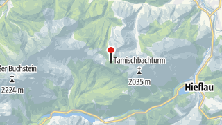 Karte / Ennstalerhütte , 1.544m