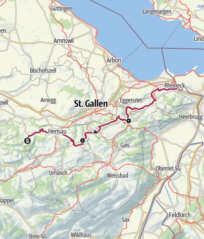 Map / Kulturspur Appenzellerland