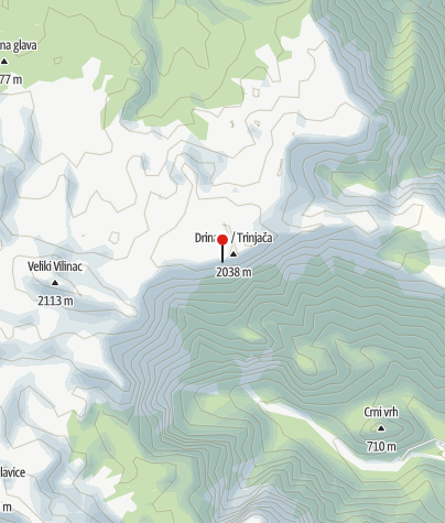 Map / Hajdučka vrata