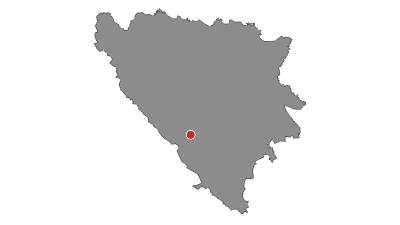 Map / Via Dinarica BH-W-05 Čvrsnica mountain