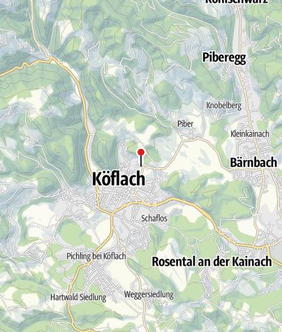 Karte / Therme NOVA Köflach
