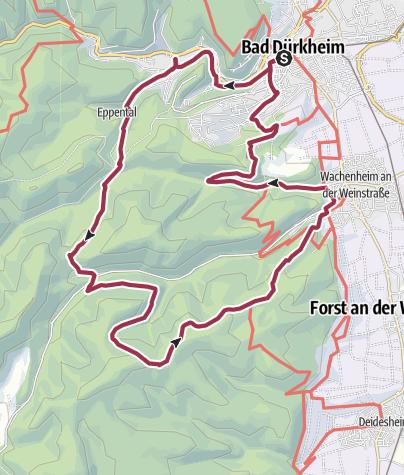 Map / Herzogweiher-Eckkopf-Deidesheim