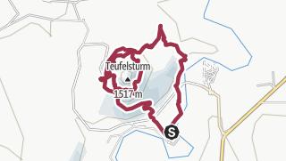 Map / Rundwanderung um den Devil's Tower