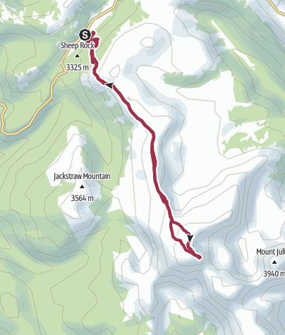 Kartta / Mount Ida