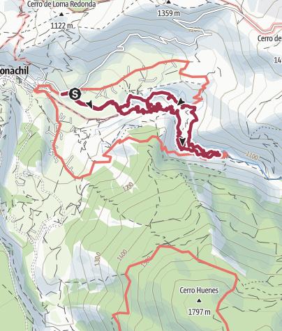 Карта / Hängebrücken von Monachil