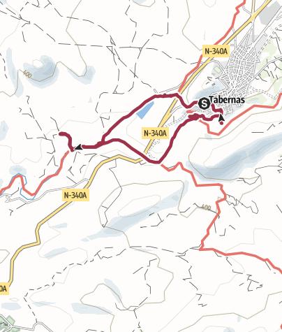 Map / Durch die Halbwüste bei Tabernas