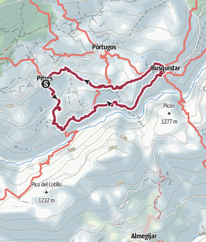 Mapa / Taha de Pitres