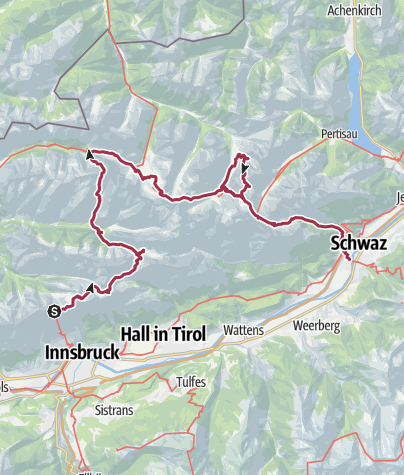 Carte / Innsbruck 5 jours