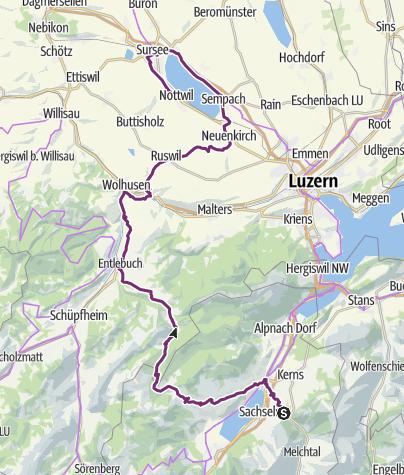 Karte / JFR 2020 Fr 1 Vormittag