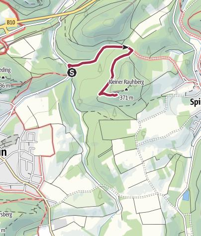 Map / Zustieg Spirkelbacher Rauhfels