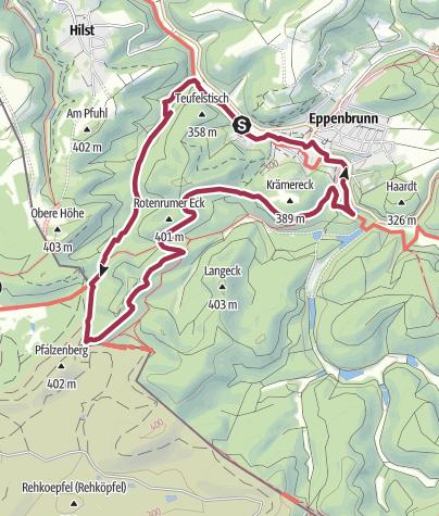 Karte / Altschloßpfad