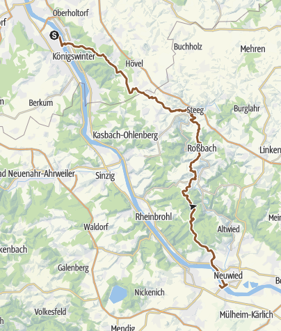 Map / Route planned on Apr 10, 2020 11:13:26