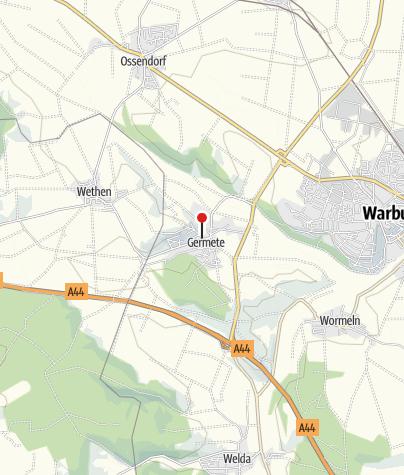 Kaart / Zukunftswerkstatt Ökumene Warburg-Germete
