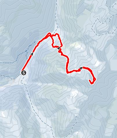 Karte / Über den Saldurboden auf den Ramudlkopf (3.330 m) im Matschertal