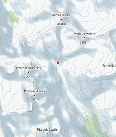 Karte / Refuge des Drayères