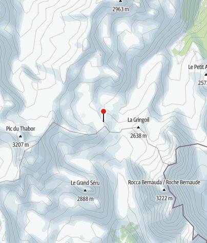 Karte / Refuge du Thabor