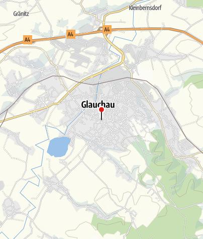 Karte / Tourist-Information Glauchau