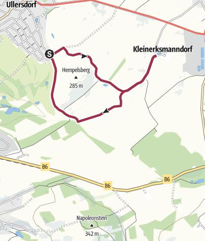Karte / Runde um den Hempelsberg