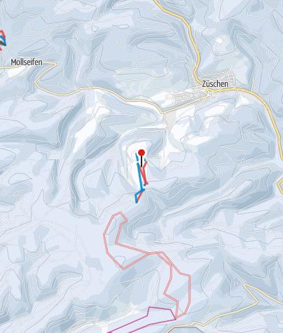 Karte / Snow World Züschen