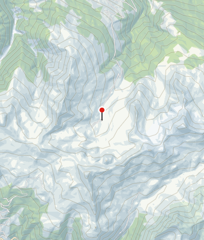 Map / Berghaus Heuberge / Fideriser Heuberge